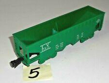 VINTAGE MARX LV LEHIGH VALLEY 21913 GREEN GONDOLA HOPPER 4 WHEEL PLASTIC 5