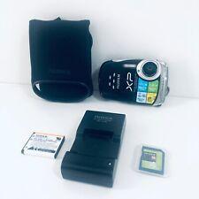 "FUJI Fine Pix XP10 12 MP Waterproof 5x Optical Zoom 2.7"" LCD Case SD Card Bundle"