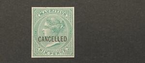 MAURITIUS  27  Beautiful  Mint  NEVER  Hinged  PROOF  UT 600