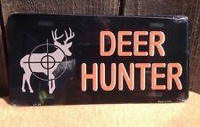 Deer Hunter Wholesale Novelty License Plate Bar Wall Decor