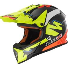 LS2 MX437 Fast ISAAC Moto-X BMX Quad Enduro Crash MX Motocross Helmet Replica