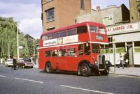PHOTO London Transport AEC Regent 111 RLH67 MXX267 in 1969 at Bromley by Bow