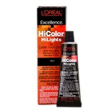 L'OREAL HiColor HIGHLIGHTS for DARK HAIR ONLY - Red 1.2 oz