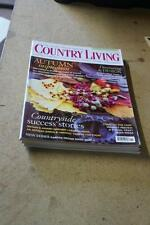 November Country Living Home Magazines