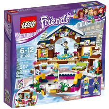 LEGO 41322 Friends Snow Resort Ice Rink Building Kit, 307 Piece