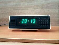 Vintage table electronic clock USSR vintage digital clock Soviet digital Watch