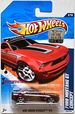 HOT WHEELS 2011 MAIN STREET FORD MUSTANG GT CONCEPT #2/10 FACTORY SEALED