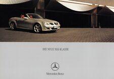 MERCEDES SLK ROADSTER R171 200 350 55 AMG Prospekt Brochure 2004 7