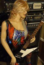 1993 Gibson Explorer Guitar in Black W/Plush Original Gibson Hardshell Case Exc.