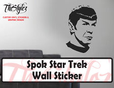 Star Trek Spok Oversize Wall Vinyl Sticker