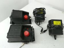 More details for 2 x hornby r965 power controllers and c912 transformers with track clips b17