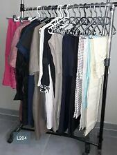 DESTOCKAGE VÊTEMENTS: Lot de 20 robes pantalons femme neufs revendeur L204