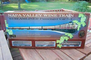 K-Line K1511 Napa Valley Wine O Gauge Diesel Passenger Train 7 pc Set with box