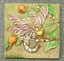 Harmony Kingdom Picturesque Martin's Minstrels Byron'S Garden Tile Plaque Pxgc1