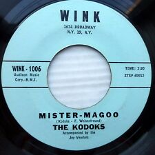 The KODOKS strong VG+ WINK 45  Mister Magoo / Love Wouldn't Mean A Thing  mg1030