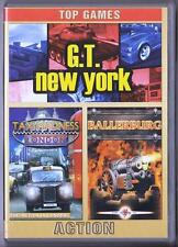 Top Games Action G.T. New York + Taxi Madness Londres + Ballerburg PC