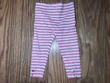 Kate Spade Infant 18M Pink Striped Leggings