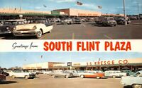 Greetings from South Flint Plaza Mi Shopping Mall S S Kresge