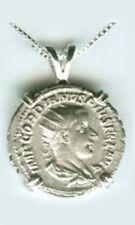 AD239 Silver Roman Denarius Emperor Gordian Goddess Concordia Harmony Cooperate