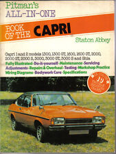 Ford Capri Pitman's All-In-One Owners Handbook Capri 1 & 2 models
