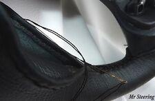 Couvre volant NISSAN NAVARA100% cuir noir véritable