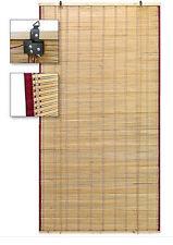 ARELLA TENDA IN BAMBU STUOIA OMBREGGIANTE CON CARRUCOLA CM 90X200 (28945)