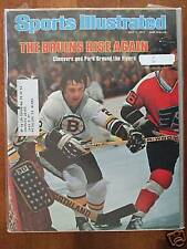 1977 Sports Illustrated-Boston Bruins Brad Park Cheevers