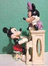 LENOX Disney MICKEY'S MUSICAL MELODY Piano sculpture NEW in BOX with COA Minnie