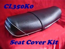 HONDA CL350 CL350K0 SEAT COVER KIT  1968 1ST YR 350 ONLY CORRECT COVER ON EBAY !
