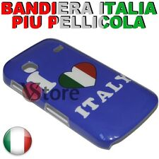 Cover Retro For Samsung Galaxy Gio S5660 I Love Italy + Film