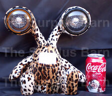 iPal Leopard Alien Monster Speakers for iPod CD MP3 iPals 3-5MM Connector