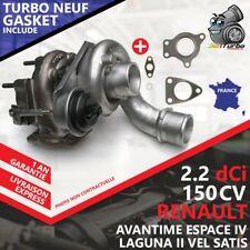 Turbo NEUF RENAULT LAGUNA II 2.2 dCi -110 Kw 150 AVEC JOINTS GASKET 718089-5
