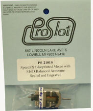 "Pro Slot SpeedFX ""Blue Printed"" S16D Motor - Sealed 1/24 Slot Car Motor"