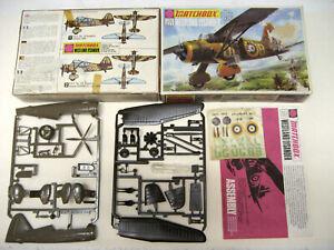 VINTAGE 1/72 MATCHBOX 1970 BOX WESTLAND LYSANDER , COMPLETE