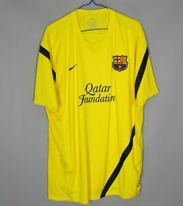 BARCELONA SPAIN 2011/2012 TRAINING FOOTBALL SHIRT JERSEY NIKE SIZE 2XL ADULT