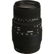 SIGMA LENS 70-300mm f/4-5.6 DL Macro Super SLR Camera Lens