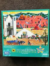 Hometown Collection - Art of Heronim 1000 piece puzzle 'Blessing of the Animals'