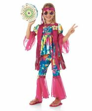 Girls Size 6 Hippie Chick Hippy Halloween 60's 70's Costume Chasing Fireflies