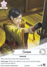 Legend Of The Five Rings L5R - Alt Art - Censure