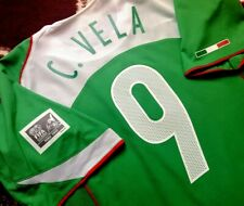 Jersey mexico Carlos Vela 2005 nike (XL) champions T90 arsenal LAFC vintage