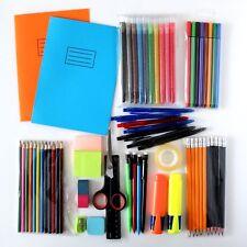 63 Pcs - School Stationery/Pen/Pencil Set - Primary/Junior Bargain Set box gift