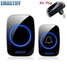 Wireless Doorbell  W/ 38 Ringtones Waterproof with US Plug