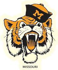 Missouri Tigers  University  Vintage 1960's Style Souvenir  Travel Decal