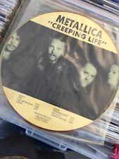 Metallica-Creeping Life-Rare LP Picture Heavy metal