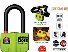 Oxford Boss Alarm Thatcham  Motorcycle Disc Lock OF3 14mm Shackle BC16291 T