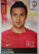 PANINI 142 Yildiray Bastürk Turchia UEFA EURO 2008 Austria-Switzerland