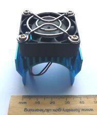 Aluminium Bleu Radiateur pour 540/550/3650 Moteur 5v Ventilateur - Rc car /