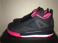 aa71d49e6d4425 Air Jordan 4 Retro GG Denim Pink 6 Youth 8y Women Nike Shoe 487724 408