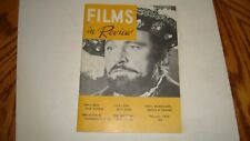 Films in Review February 1970 Richard Burton Photo Cover Wampas Baby Stars VF-