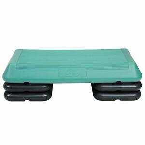 The Step Original Circuit Size Aerobic Platform with Grey Nonslip Platform an...